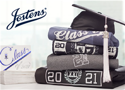 Josten graduation cap and attire