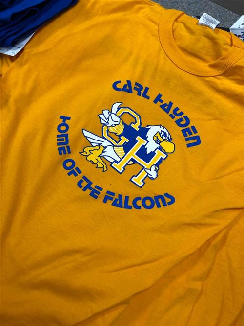 gold falcon shirt