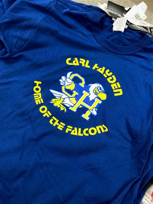 blue falcon shirt