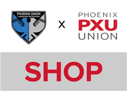 PXU shop name graphic