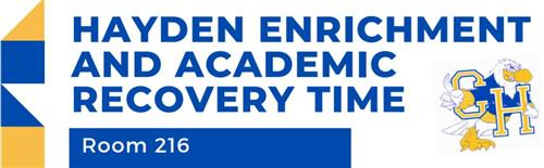 Hayden Enrichment and Academic Recovery Time Room 216