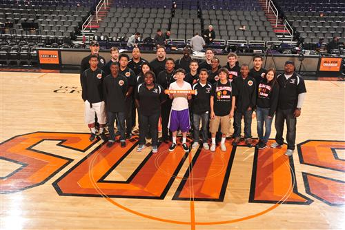 Suns Game 2013