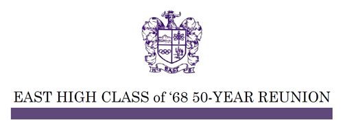 East High Class of '68 50-Year Reunion