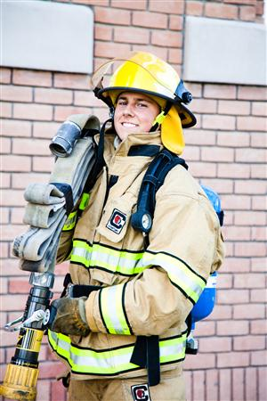 Firefighting Student