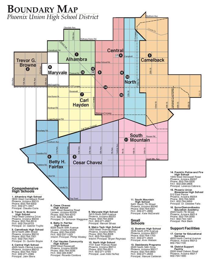 District Information  Attendance Boundaries