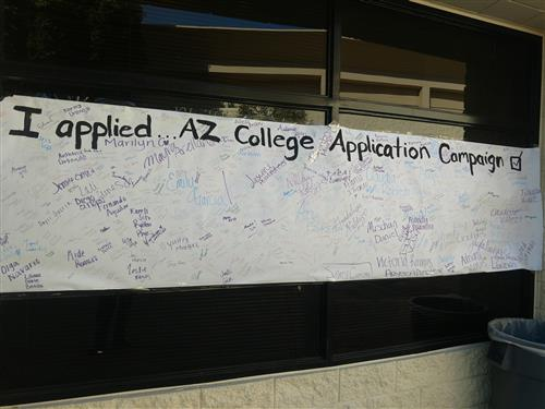College Applications Completed Poster